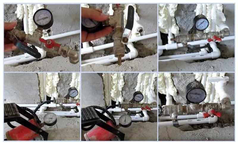 Опрессовка системы водоснабжения: подготовка, оборудование и порядок проведения