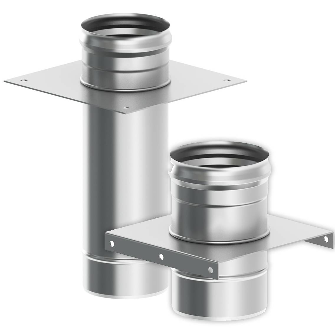 Трубы для дымохода: выбор материала и монтаж