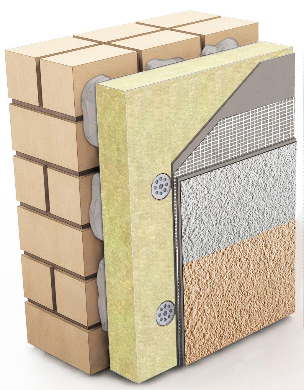 Мокрый фасад технология монтажа и необходимые для этого материалы