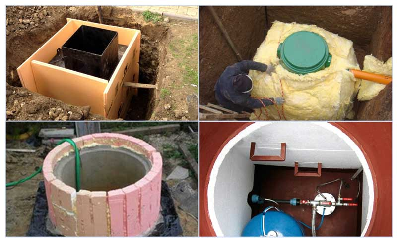 Гидроизоляция кессона из бетонных колец - о строительстве и ремонте простыми словами