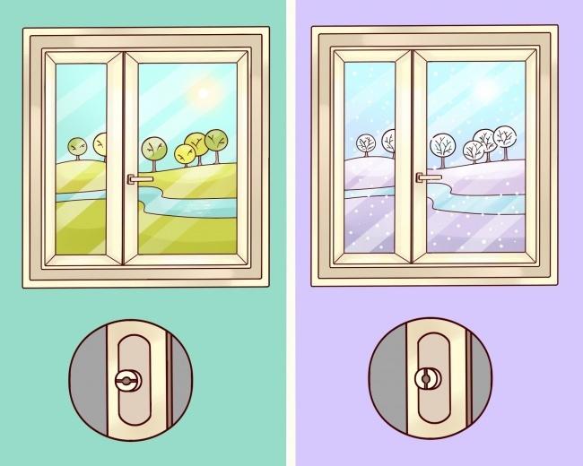 Сберегаем тепло, или как перевести окна в зимний режим