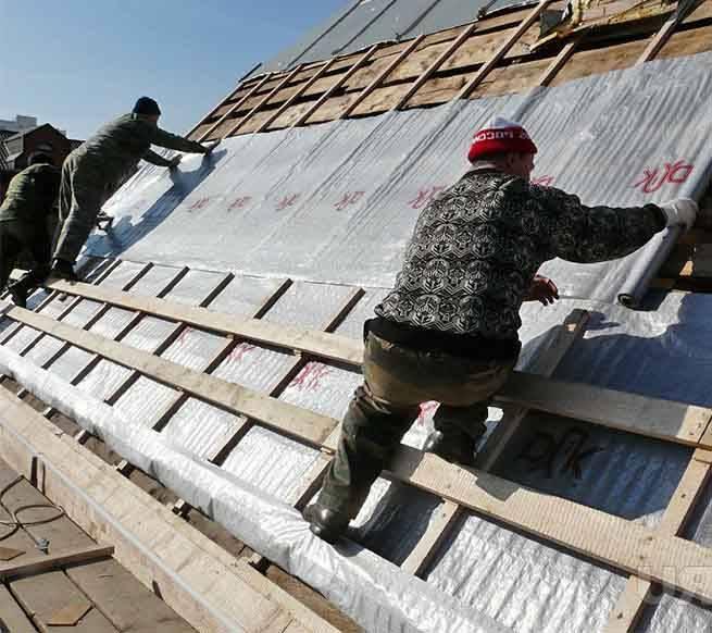 Пароизоляция для крыши: как самостоятельно установить?