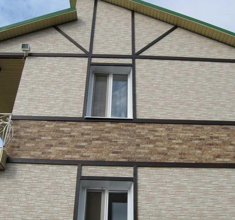 Облицовка фасада дома. какой материал лучше?