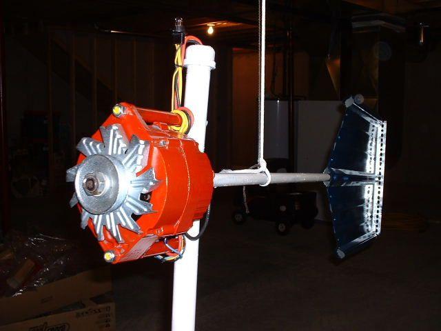 Как сделать ветрогенератор из автомобильного генератора своими руками?