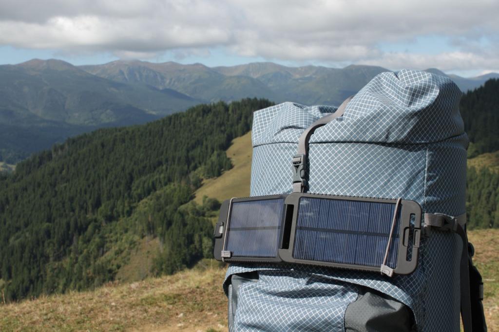 Выбор солнечной батареи для туризма