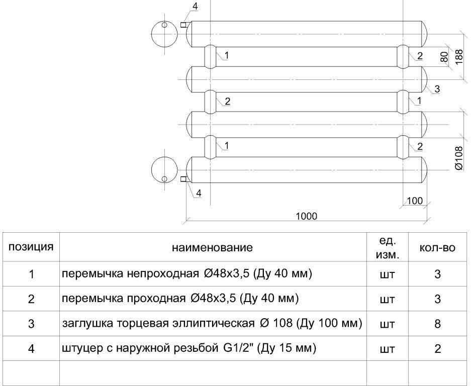 Регистр (38 фото): стальные конструкции для отопления, изготовление и монтаж отопительной продукции своими руками, тонкости расчета