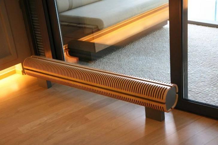 Водяные напольные конвекторы отопления, настенные и с вентилятором