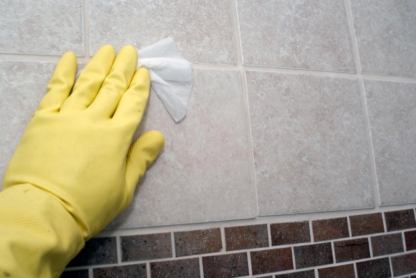 Как отмыть кафель на кухне от жира?
