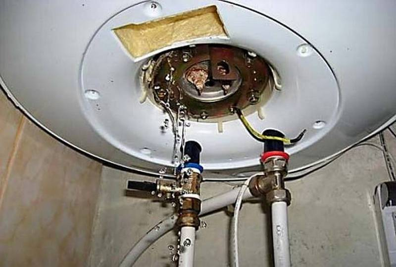 Как слить воду с водонагревателя: правильно, быстро, полностью