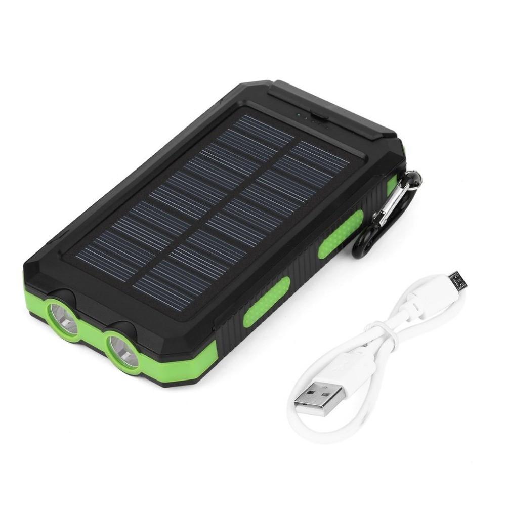 Лучшие внешние аккумуляторы с солнечной батареей