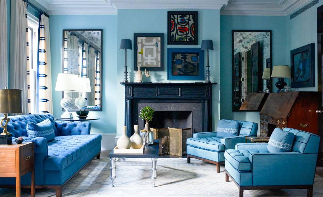 Цвет настроенья: почему синий стоит использовать в интерьере