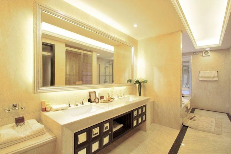 Как правильно организовать освещение ванной комнаты