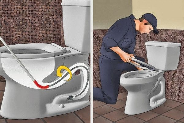 Как прочистить унитаз от засора - простые, но эффективные средства для чистки в домашних условиях