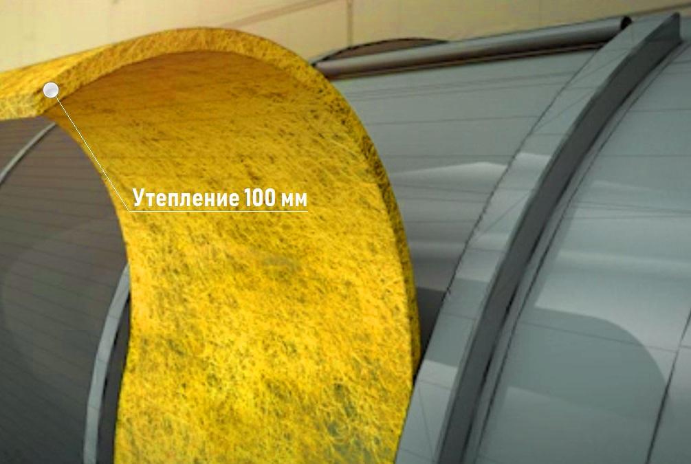 Теплоизоляция резервуаров минеральной ватой | емкостное оборудование