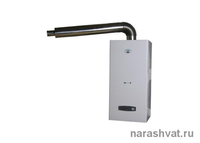 Турбированная газовая колонка без дымохода с закрытой камерой сгорания