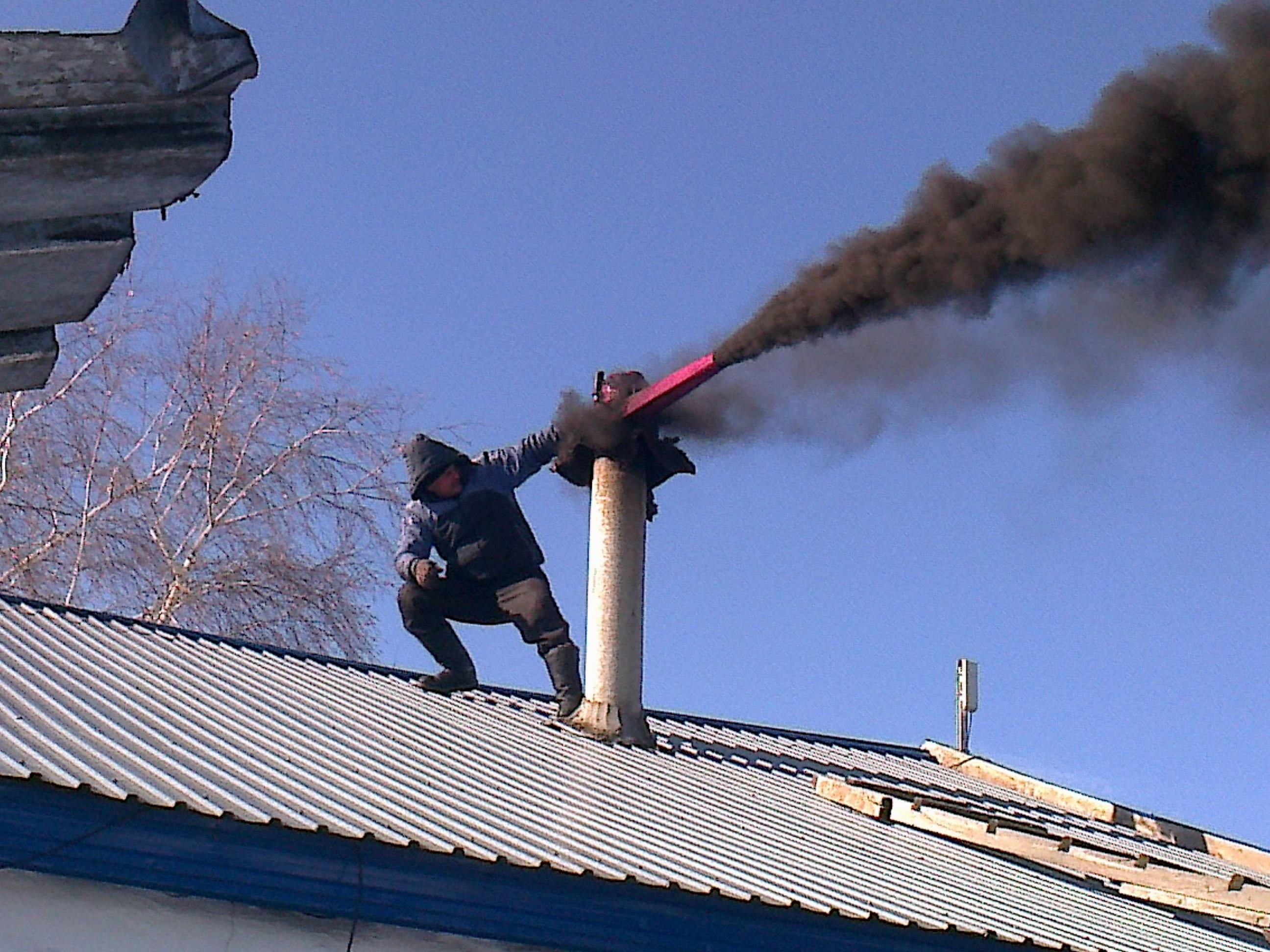 Как сделать изоляцию трубы дымохода