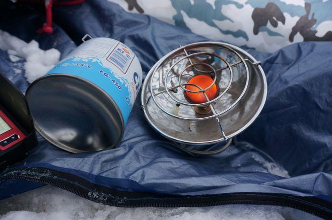 Обогрев палатки зимой, варианты безопасного отопления