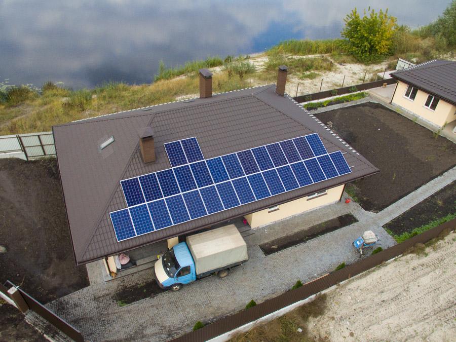 Как установить солнечную электростанцию для дома или дачи - жми!