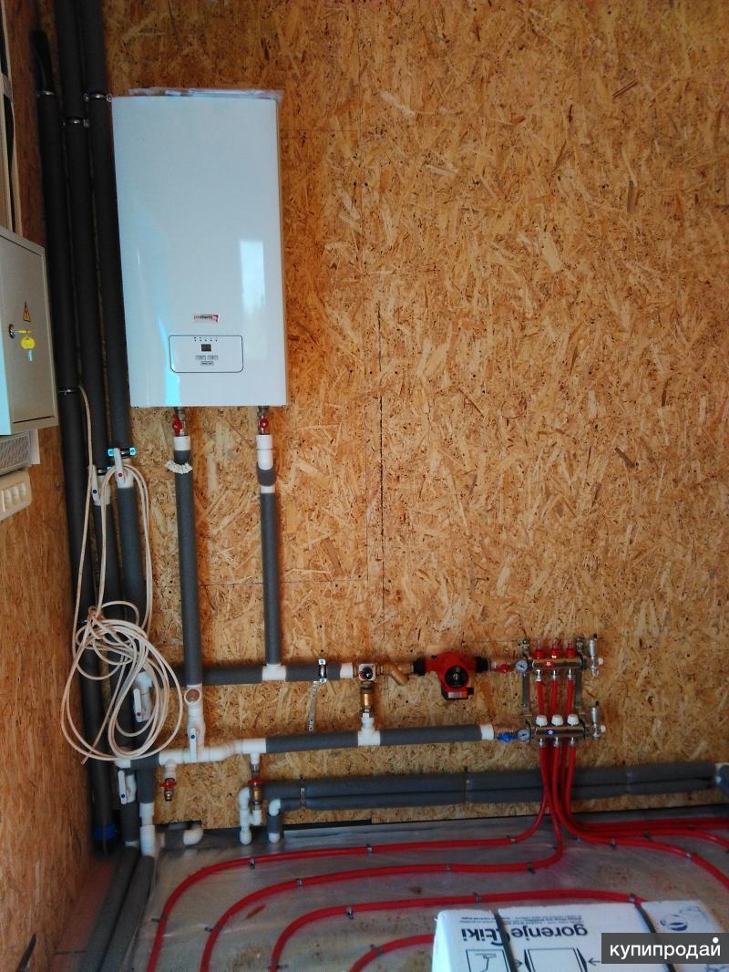 Отопление дома из сип панелей |  отопление | postrojkin.ru