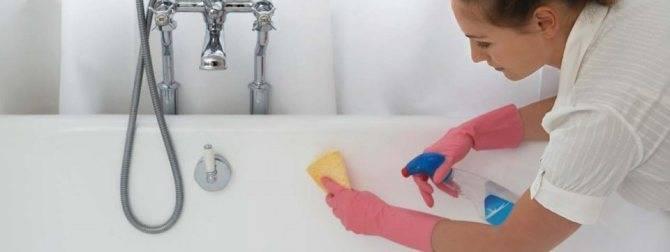 Налет в ванной - лучшие средства для убора известкового налета (125 фото)
