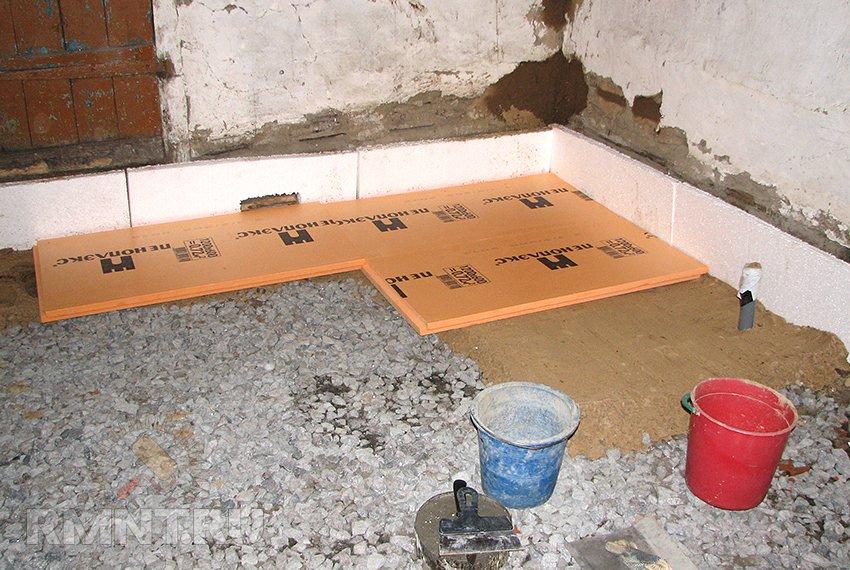 Пол бетонный: как утеплить и виды утеплителя