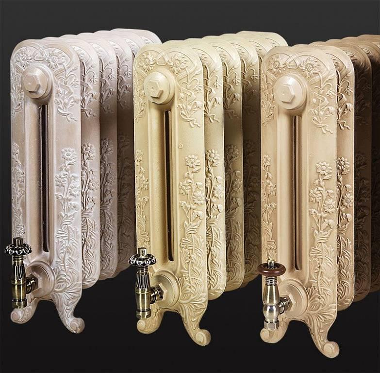 Надежность и красота – основные достоинства чугунных ретро радиаторов