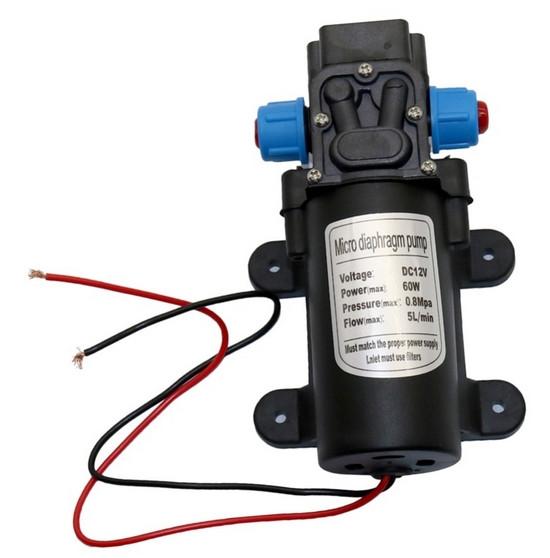 Циркуляционный насос для отопления 12 Вольт с аккумулятором