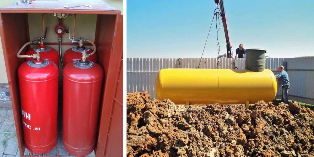 Газгольдеры для частного дома: отзывы, цены, плюсы, монтаж