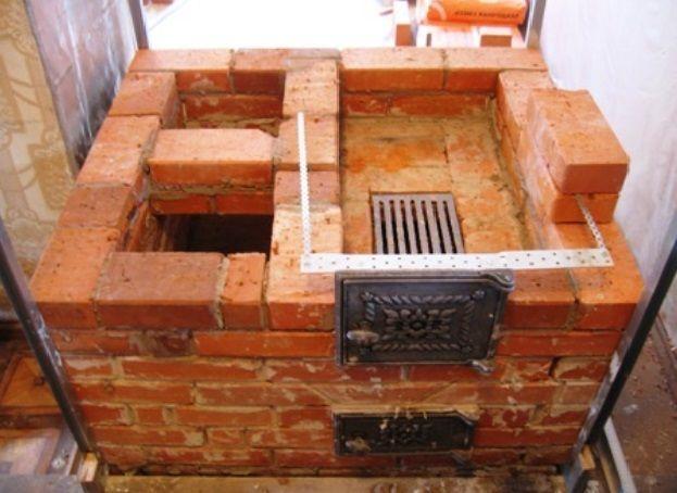 Ремонт кирпичных печей в частном доме своими руками