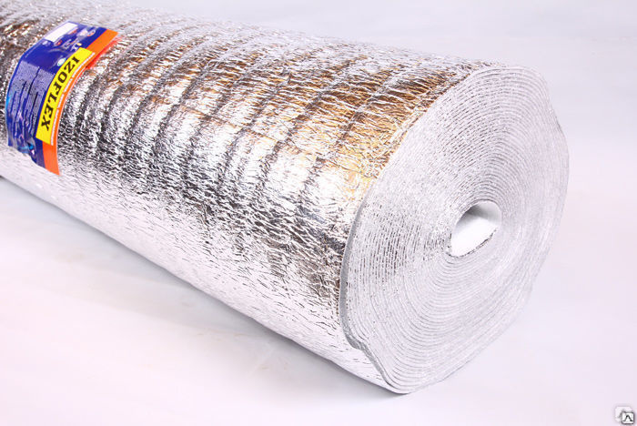 Изолон фольгированный (фольгоизолон): технические характеристики и применение
