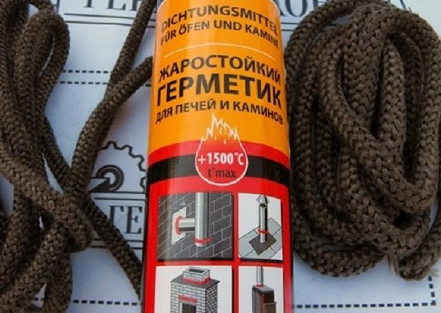 Высокотемпературный герметик: виды, плюсы и минусы огнеупорных силиконовых составов для печей и каминов