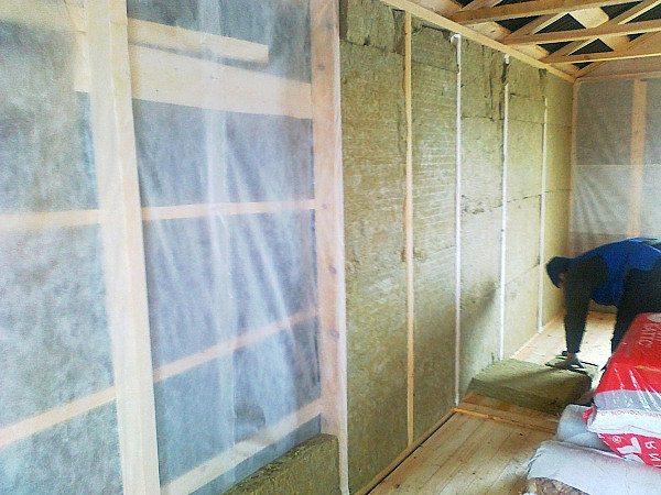 Утепление деревянного дома изнутри своими руками