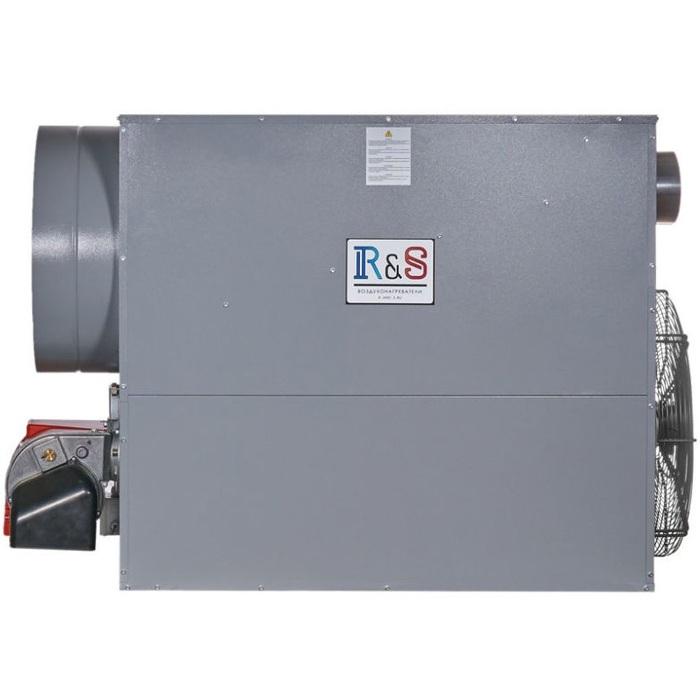 Газовое воздушное отопление производственных помещений и теплиц