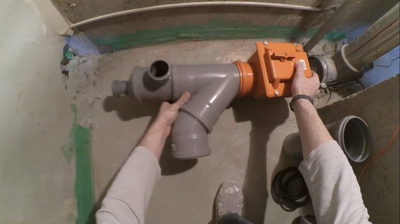 Зачем нужен клапан на канализационную трубу (стояк)?