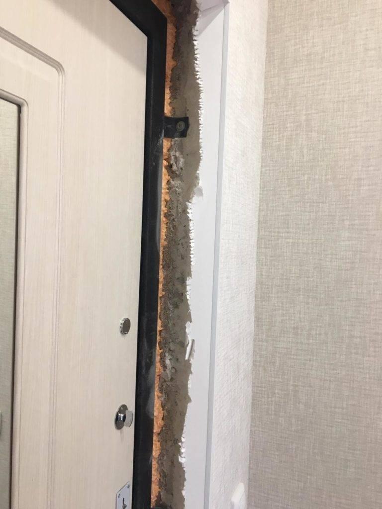 Дверные откосы на входную дверь: как сделать из мдф своими руками, штукатурка и другие варианты