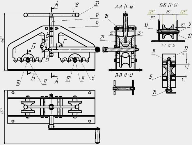 Как самому изготовить трубогиб дома из подручных материалов идеи инструкция и описание – мои инструменты