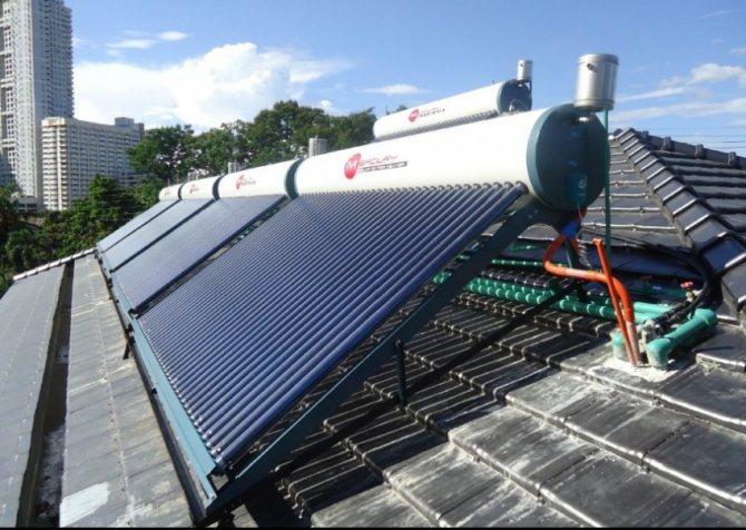 Самодельный солнечный водонагреватель своими руками для дома: схема, принцип работы