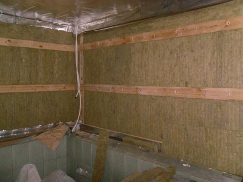 Как утеплить баню из шлакоблока: пола и стен, ищем эффективный способ