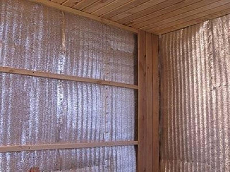 Как утеплить дом пенофолом - характеристики материала. жми!