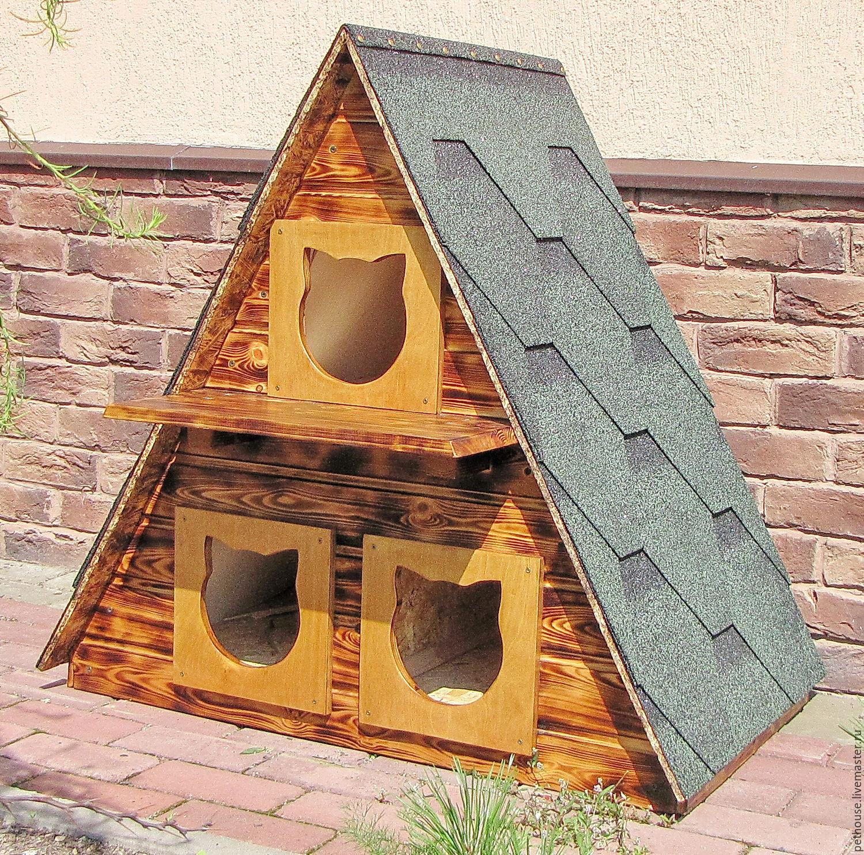 Зимний домик для бездомных котов своими руками : labuda.blog