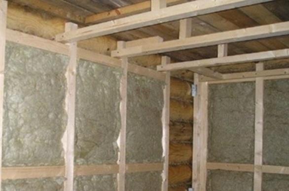 Как утеплить баню из керамзитобетонных блоков снаружи и внутри (фото и видео)