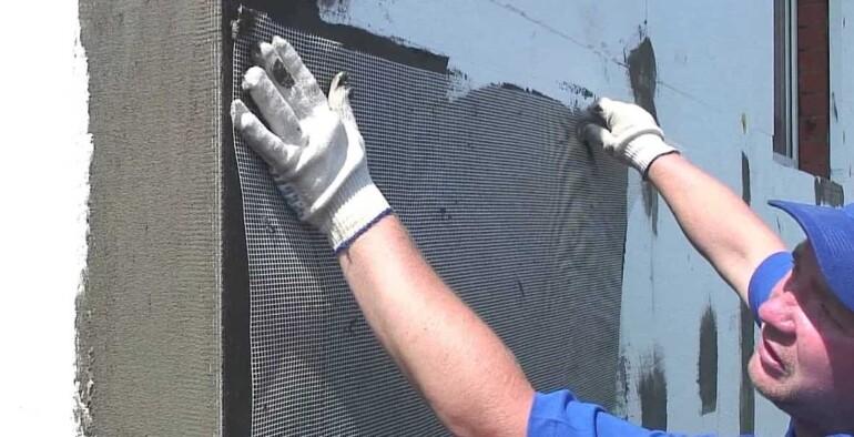 Технология и последовательность утепления стен пеноплексом снаружи под штукатурку