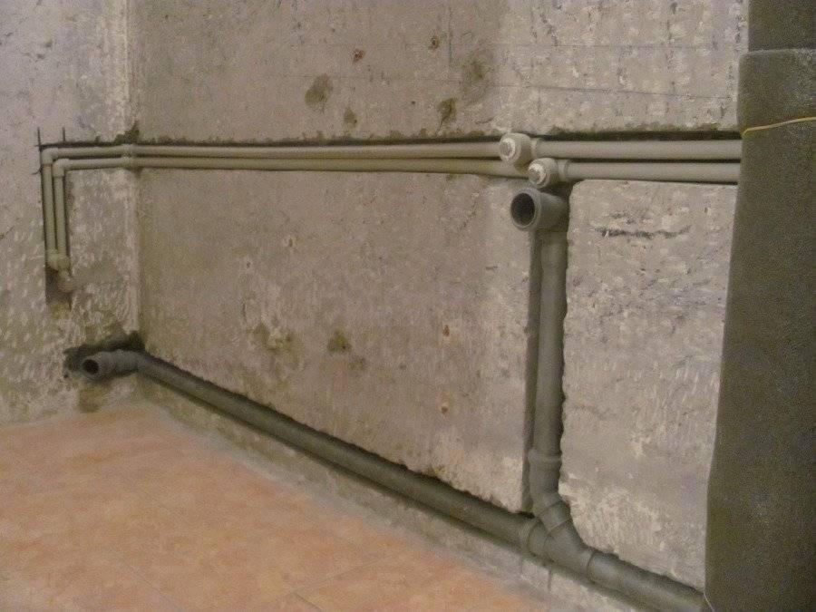 Можно ли прятать полипропиленовые трубы в стену - клуб мастеров