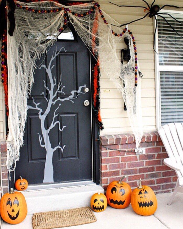 10 крутых украшений на хэллоуин своими руками