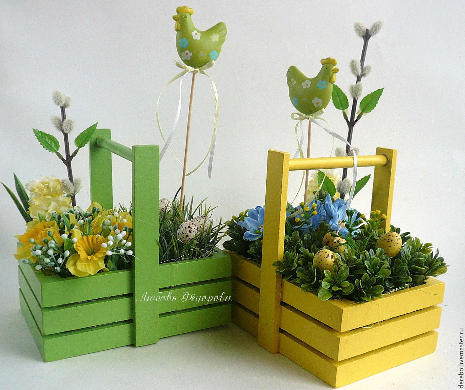 Красивые композиции из живых цветов в коробке + 110 фото