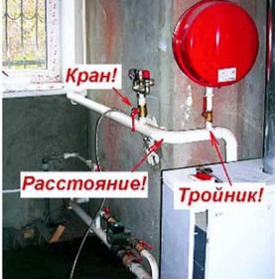 Группа безопасности для отопления своими руками | всё об отоплении
