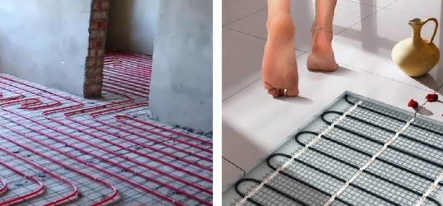 Какие теплые полы лучше — водяные или электрические