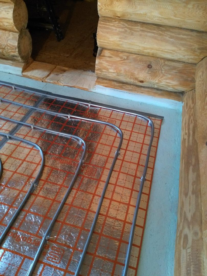 Теплый пол в сауне: виды, монтаж, характеристики