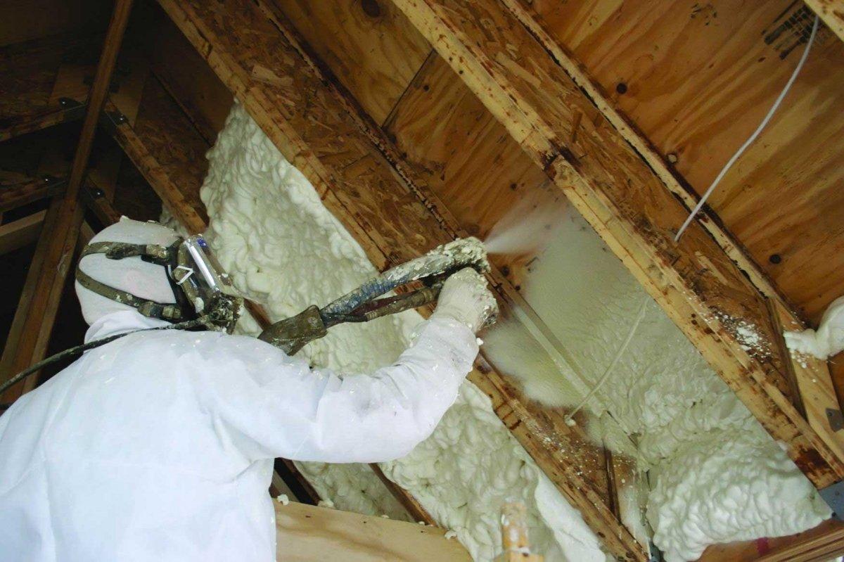 Утепление потолка в частном доме изнутри: чем утеплить внутри, утепляем пенопластом, утеплитель для бетонной поверхности