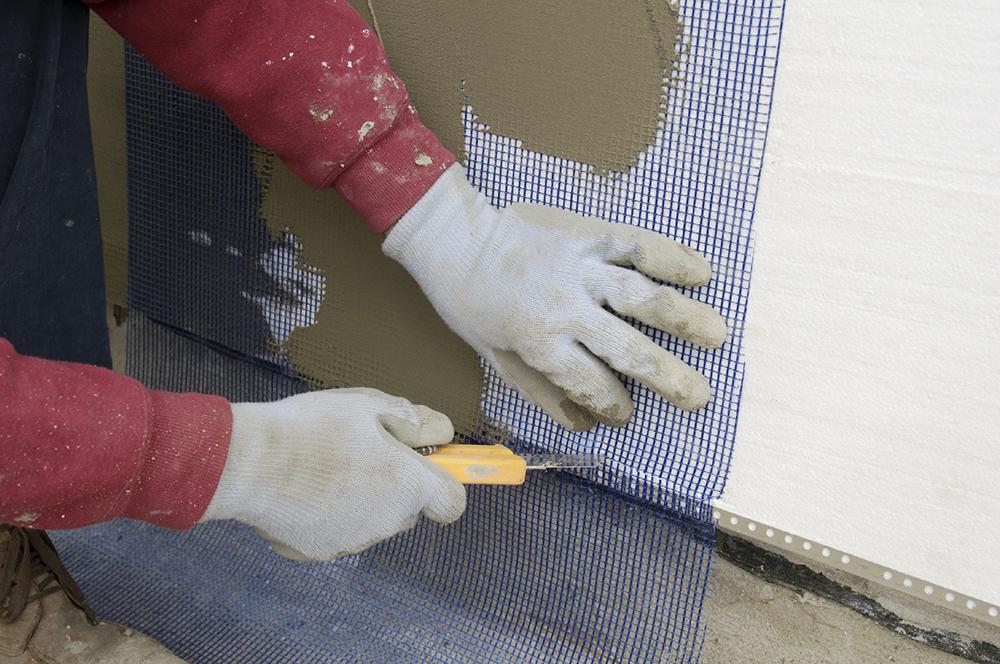 Как оштукатурить дом снаружи по пенопласту своими руками